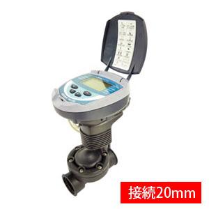 自動潅水タイマー スプリンクラーシンカー 接続口径20mm DC1SG(20mm) サンホープ 乾電池式 センサー入力ケーブル付き