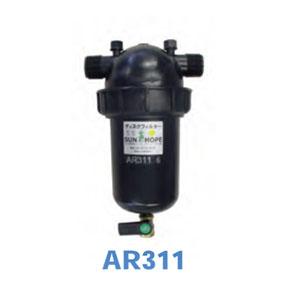 ディスクフィルター 25mm 1インチオスネジ AR311 サンホープ かん水用 ろ過器