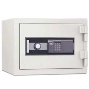 家庭用金庫 指紋認証耐火金庫 STJ-20FPE 日本アイエスケイ 幅544mm JIS認証製品