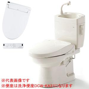 簡易水洗便器(手洗い付) ソフィアシリーズ 洗浄便座 FZ300-HKA21 ダイワ化成 リモコン付