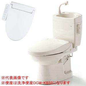 簡易水洗便器(手洗い付) ソフィアシリーズ 洗浄便座 FZ300-HKB22 ダイワ化成 温風乾燥 操作部一体型
