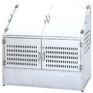 NewステンダストBOX (1200mm) 500L CS-29 サンカ 完成品 幅120cm【個人宅配送不可】