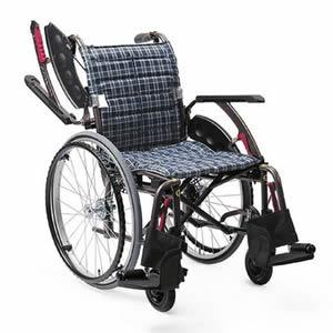 WAVIT+ (ウェイビットプラス)シリーズ WAP22-40(42)S/A 自走介助兼用車椅子 カワムラサイクル