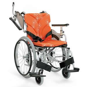 自走介助兼用 モジュール車椅子 AYO22-40(36・38・42・45・48・50) カワムラサイクル 【受注生産品】