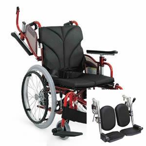 自走介助兼用 モジュール車椅子 AYO22-40(36・38・42・45・48・50)EL カワムラサイクル 【受注生産品】