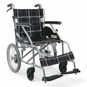 介助式車椅子 KV16-40SB カワムラサイクル