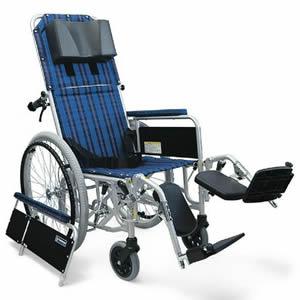 RR50シリーズ RR52-NB アルミ製 フルリクライニング 自走式車椅子 介助ブレーキ無 カワムラサイクル