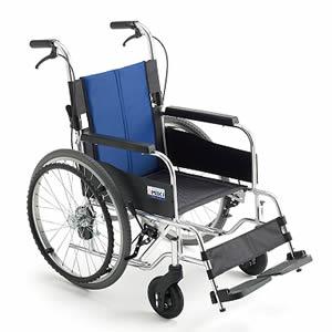 BALシリーズ BAL-1S 低座面高さモジュール 自走介助兼用車椅子 ミキ【受注生産品】