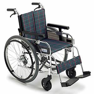自走介助兼用モジュール車椅子 MYUシリーズ MYU226JD ミキ