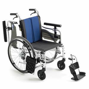 BALシリーズ BAL-5 座面高モジュール 多機能 自走介助兼用車椅子 ミキ