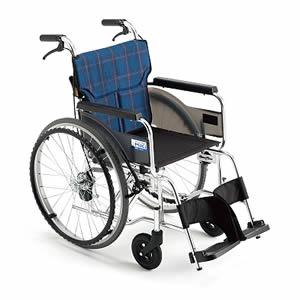 BALシリーズ BAL-7SP 軽量タイプ 自走介助兼用車椅子 ミキ【受注生産品】