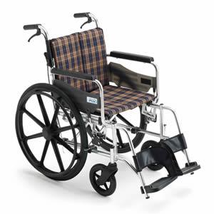 ワイドタイプ 自走式車椅子 KJP-2H ミキ