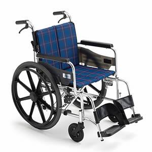 ワイドタイプ 自走式車椅子 KJP-2M ミキ【受注生産品】