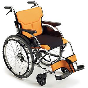 RXシリーズ スタイリッシュ自走介助兼用車椅子 RX-1 ミキ【受注生産品】