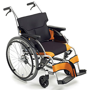 RXシリーズ 姿勢サポート自走介助兼用車いす RX_ABS Lo ミキ【受注生産品】