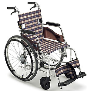 Skit(スキット)シリーズ SKT-3 スレンダー自走介助兼用車椅子 ミキ