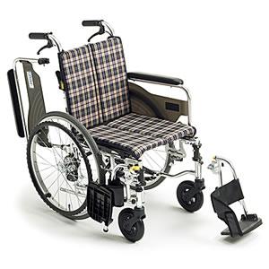 Skit(スキット)シリーズ SKT-4 Lo 低座面スレンダー 自走介助兼用車椅子 ミキ