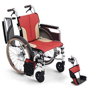 Skit(スキット)シリーズ SKT-400 スレンダー 自走介助兼用車椅子 ミキ