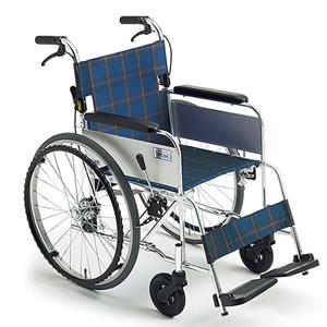 自走介助兼用車椅子 ライト M-43K SP ミキ
