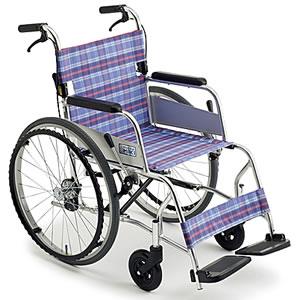 超々軽量車椅子ニューライト M-43SK SP 自走介助兼用車椅子 ミキ