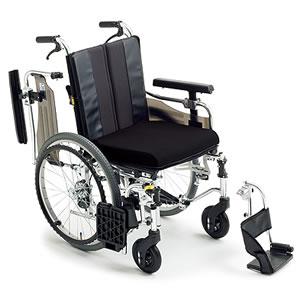 エムエムフィット自走介助兼用モジュール車椅子 標準高タイプ MM-Fit Hi 20 ミキ