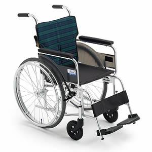 BALシリーズ BAL-7 軽量エアタイヤタイプ 自走式車椅子 ミキ【受注生産品】