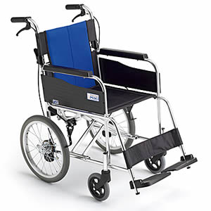 BALシリーズ BAL-2 アルミ製 介助式車椅子 ミキ