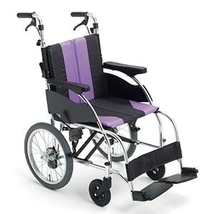 アップライトシリーズ UR-2 押し手高調整機能付 介助式車椅子 ミキ【受注生産品】