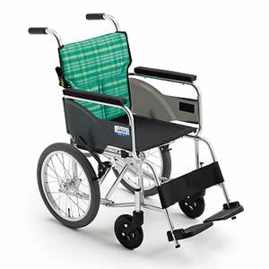 BALシリーズ BAL-8軽量エアタイヤタイプ 介助式車椅子 ミキ【受注生産品】