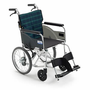 BALシリーズ BAL-8SP 軽量タイプ 介助式車椅子 ミキ【受注生産品】