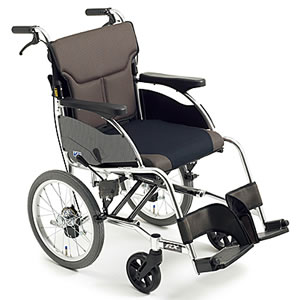 RXシリーズ スタイリッシュ介助式車椅子 RXC-1 ミキ【受注生産品】