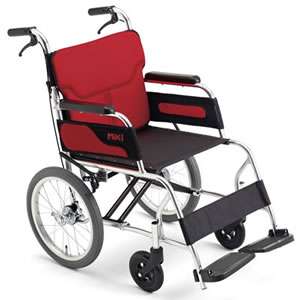 Caroon(カルーン)シリーズ MC-43RK 介助式車椅子 ミキ【受注生産品】