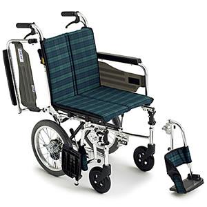 Skit(スキット)シリーズ SKT-2 スレンダー介助式車椅子 ミキ