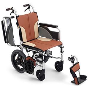 Skit(スキット)シリーズ SKT-200 スレンダー介助式車椅子 ミキ