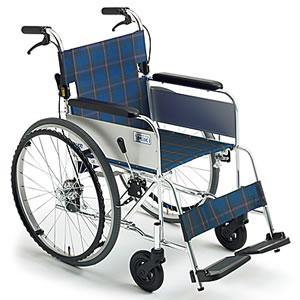 ライト MC-43K SP 介助式車椅子 ミキ【受注生産品】