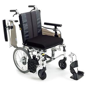 エムエムフィット MM-Fit Hi 16 介助式車椅子 座面高&幅調節&押し手高モジュール ミキ