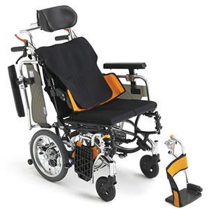 Skit(スキット)シリーズ SKT_plus ABS アクティブ・バランス・シーティング介助式車椅子 ミキ