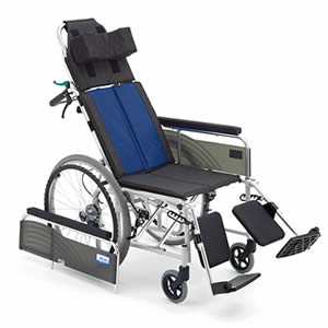 BALシリーズ BAL-13 リクライニング 自走介助兼用車椅子 ミキ【受注生産品】