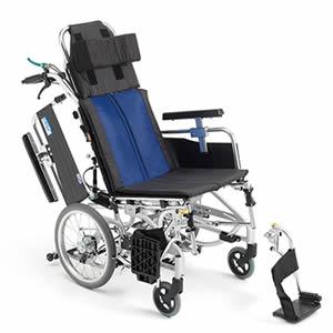 BALシリーズ BAL-12 ティルト&リクライニング 介助式車椅子 ミキ