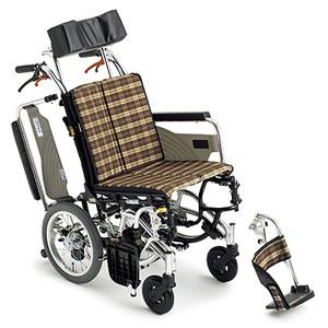 Skit(スキット)シリーズ SKT-7 ティルト仕様 介助式車椅子 ミキ