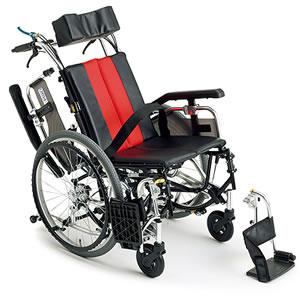 自走介助兼用車椅子 TRシリーズ TR-1 ティルト&リクライニング ミキ