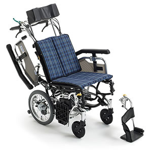 Skit(スキット)シリーズ SKT-8 ティルト&リクライニング介助式車椅子 ミキ