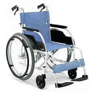 ECOシリーズ アルミ製スタンダード自走式車椅子 ECO-201B 松永製作所