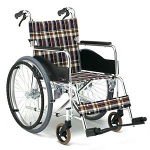 ARシリーズ AR-201B アルミ製 スタンダードタイプ 自走介助兼用車椅子 松永製作所