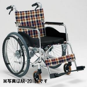 自動ブレーキ装置付 自走介助兼用車椅子 AR-101BT 松永製作所