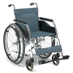 DMシリーズ DM-101 (低床) スチール製 スタンダードタイプ 自走型車椅子 松永製作所