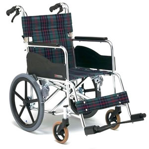ARシリーズ AR-311 アルミ製 スタンダードタイプ 介助型車椅子 低床 松永製作所