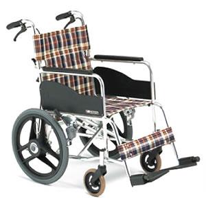 ポンプ内蔵車輪付 介助型車椅子 AR-301AH 松永製作所【受注生産品】