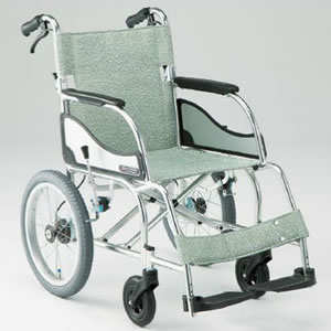 エアリアルシリーズ MW-SL21B 軽量 スタンダードタイプ 介助型車椅子 松永製作所