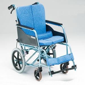 ALL抗菌スリムタイプ 転倒防止付介助型車椅子 REM-8 松永製作所